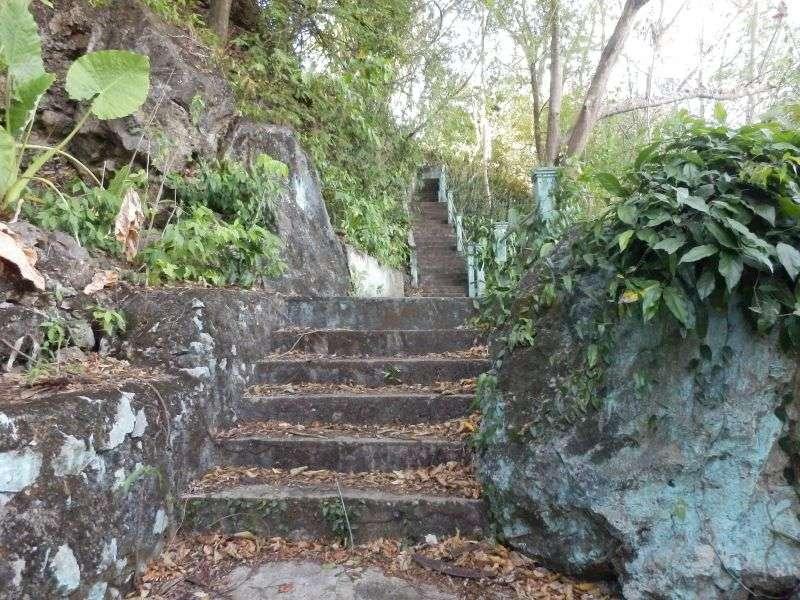 wieder einmal Stufen über Stufen