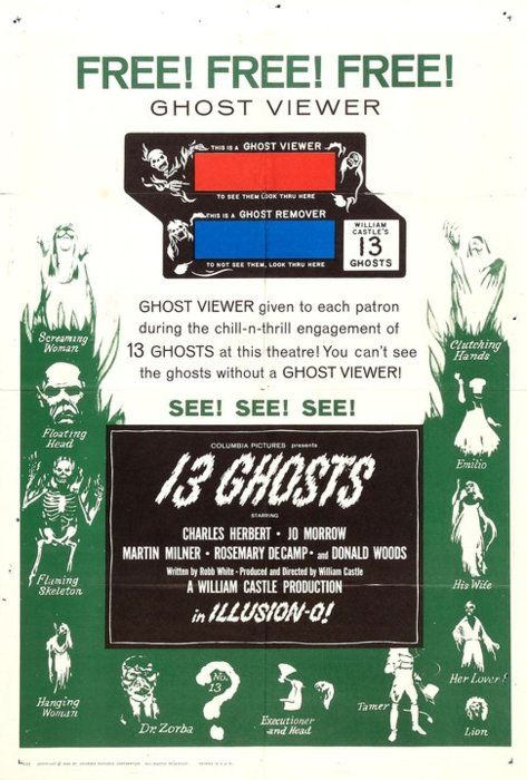 tumblrlu14hwimdh1qc1sdu William Castle   13 Ghosts (1960)