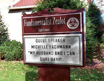 Bachmann Cures Gay