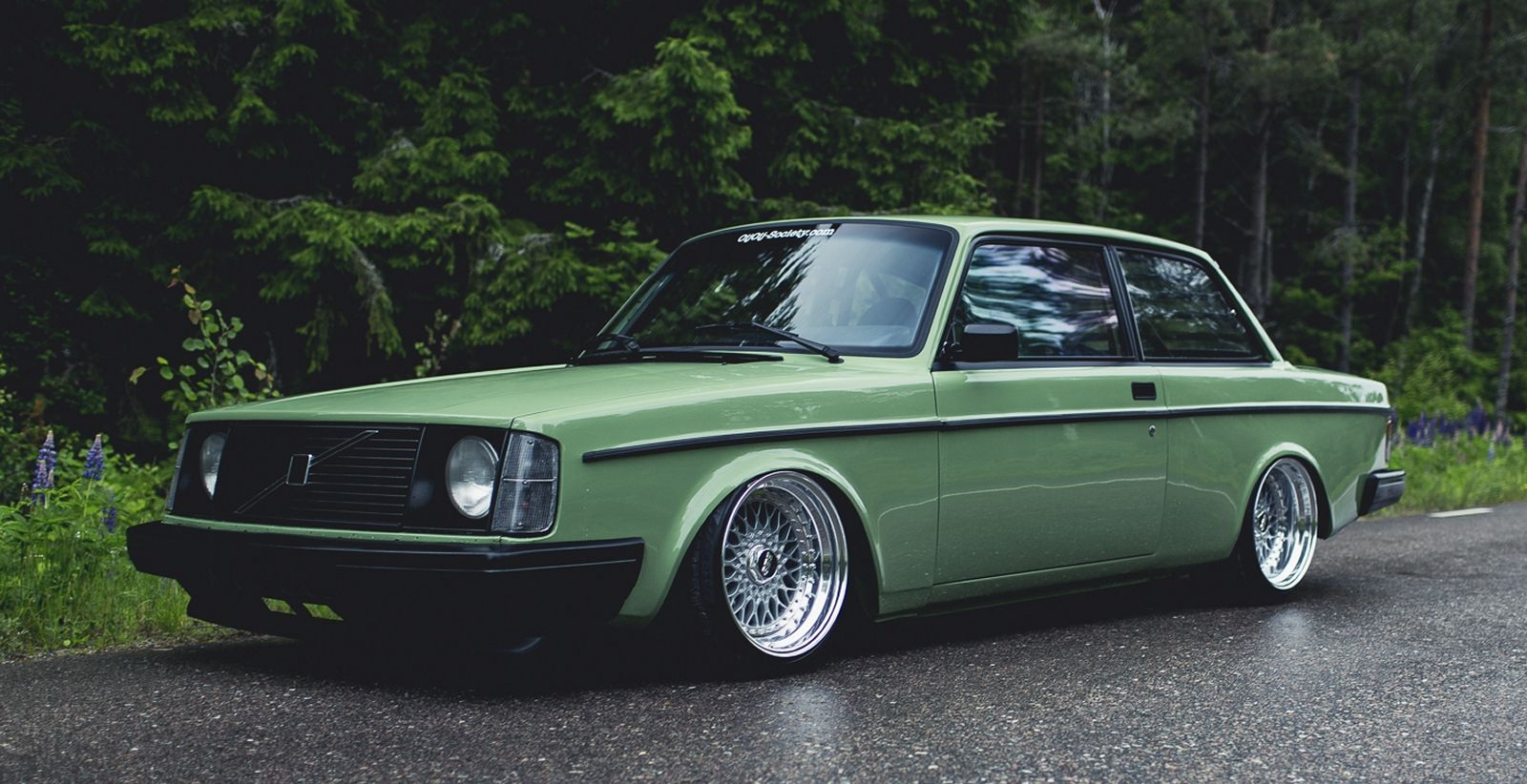 Volvo 242 Custom By Patrick Lindgren Sport Car