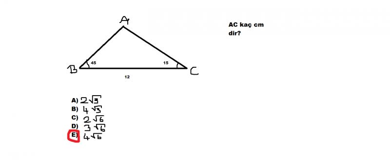 Olasılık-Trigonometri-Karmaşık Sayılar-Logoritma